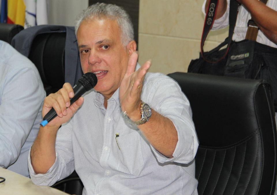 Superintendente Fernando Rezende: aeroporto receberá novas operações. Foto: Andye Iore/PMM