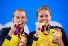 Pódio das irmãs nos Jogos Parapan-Americanos. Foto: Divulgação