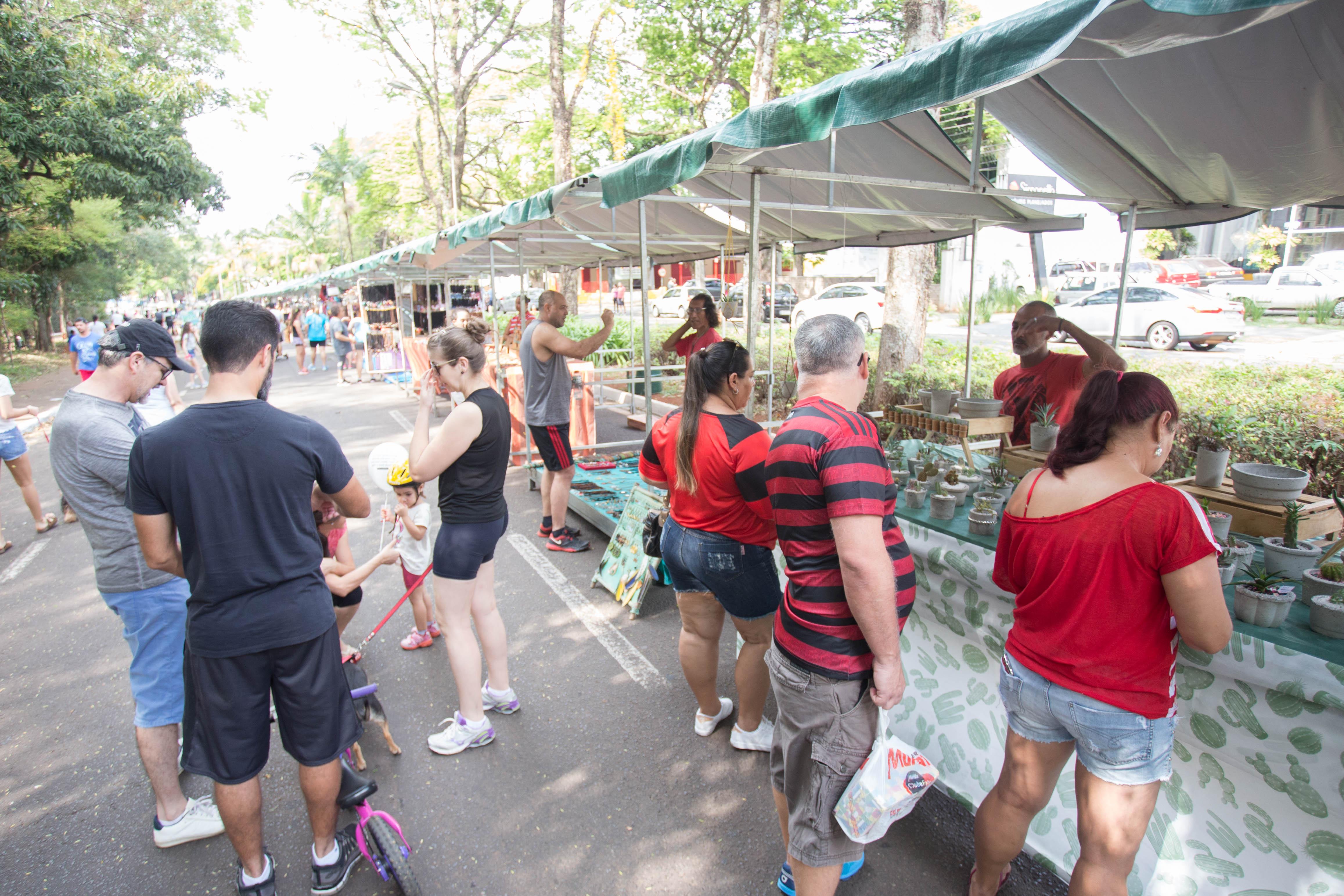 Feira do Parque. Foto: Vivian Silva/PMM