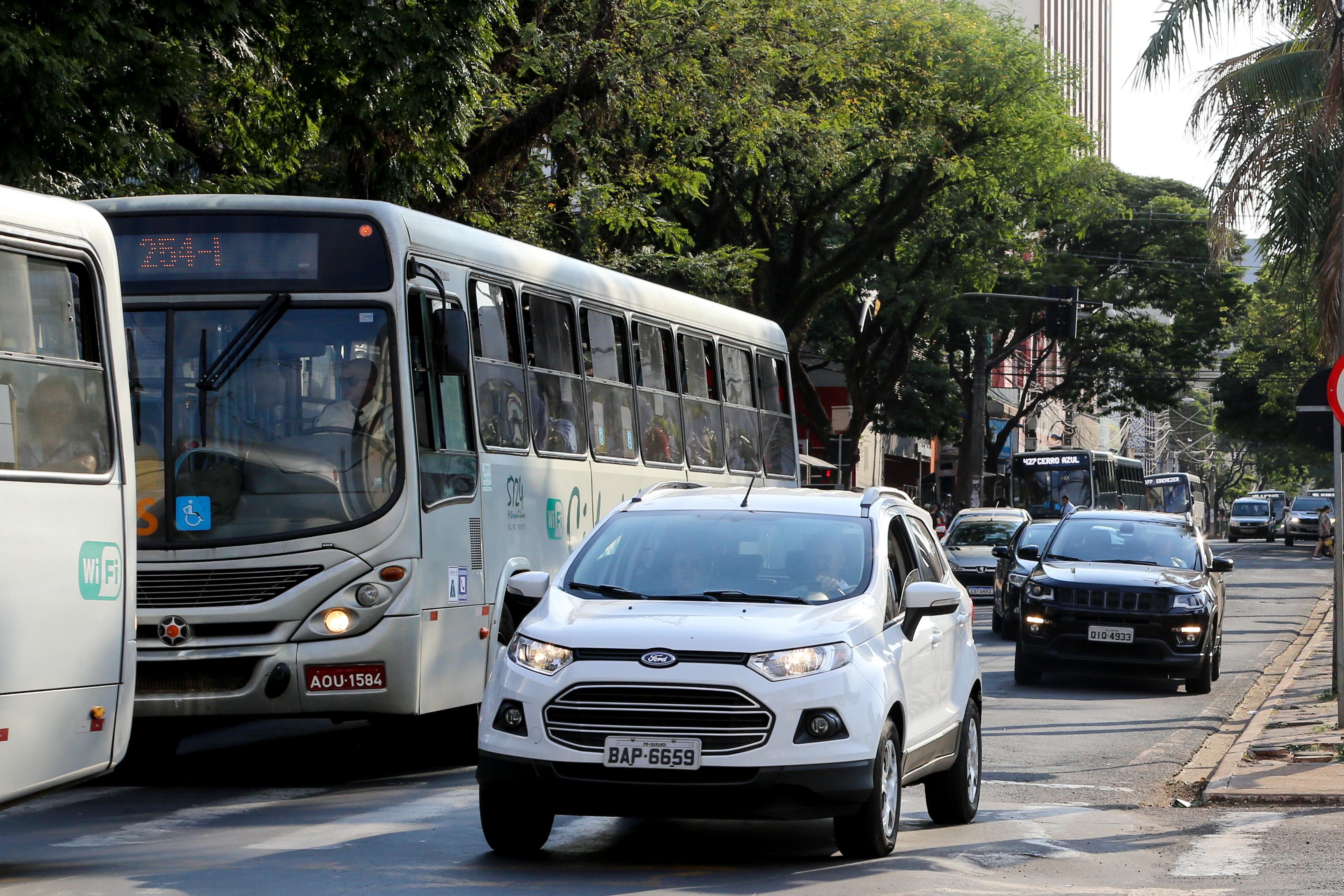 Plano será com base em estatísticas de frota de veículos, das vias, motoristas, pilotos e passageiros, entre outras situações . Foto: Aldemir de Moraes/PMM