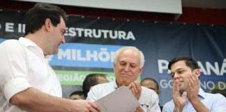 Liberação de recursos para cidades do Noroeste foi confirmada nesta quinta-feira (12) pelo governador Carlos Massa Ratinho Junior
