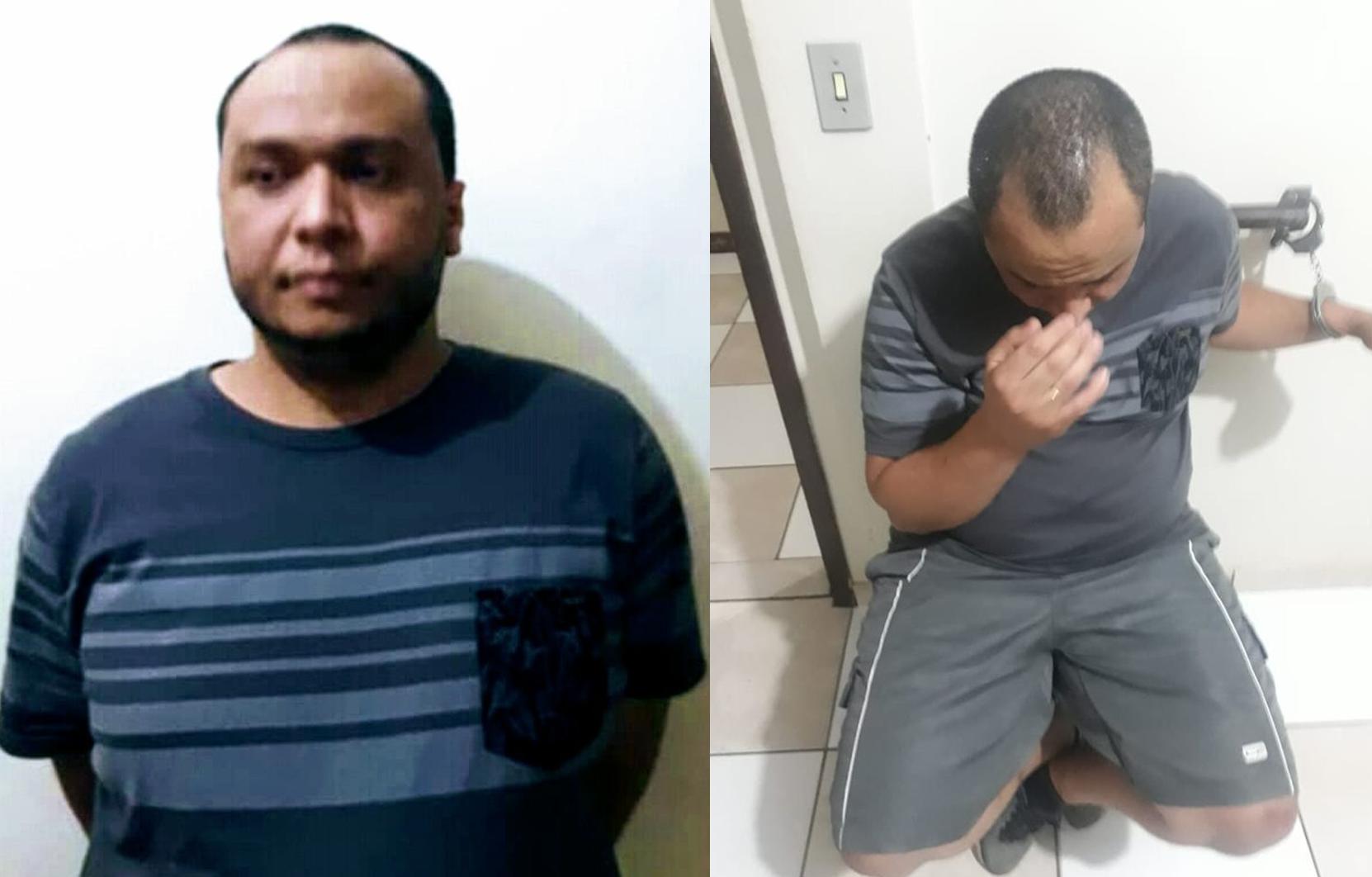 Ele foi capturado ao chegar na casa da namorada, na Avenida Itararé, no Jardim Ponta Grossa. Foto: Divulgação