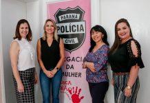 Possíveis parcerias com a secretaria da Mulher para o combate à violência doméstica e de estímulo ao empoderamento feminino são discutidas. Foto: Edson Denobi
