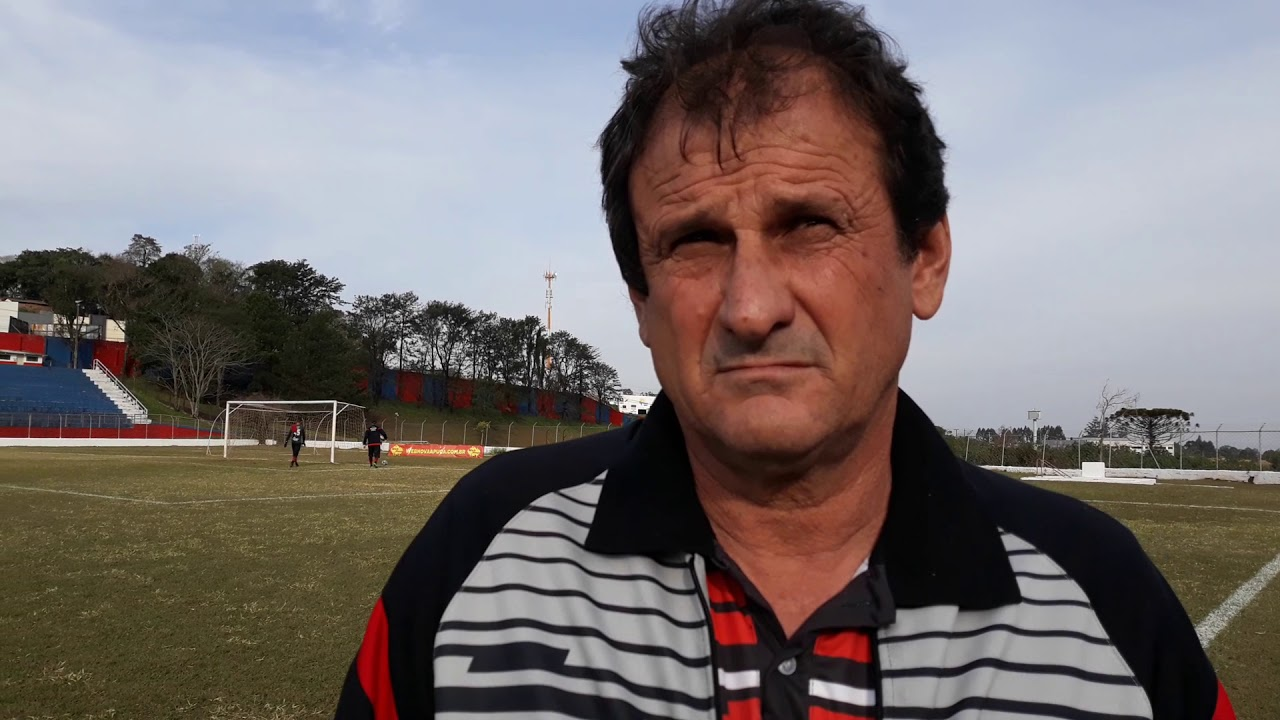 Claudemir Sturion, ex-técnico do Apucarana Sports