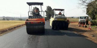 Rodovias na região Oeste estão passando por reperfilagem.