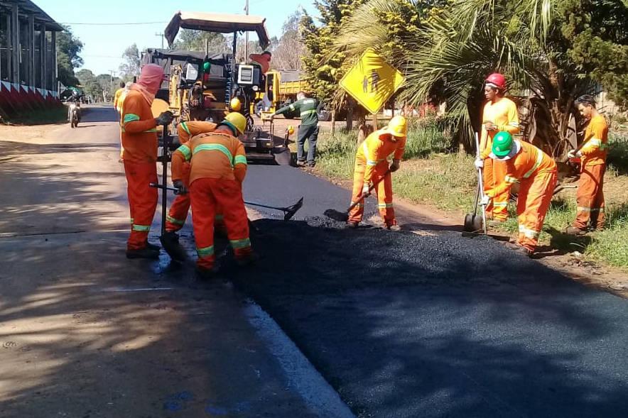 Melhorias no pavimento estão sendo realizadas em pontos críticos da rodovia, próxima a Guarapuava, em uma extensão de 50,4 quilômetros.