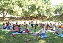 Projeto Yoga no parque será desenvolvido todas as segundas sextas-feiras do mês, às 9 horas