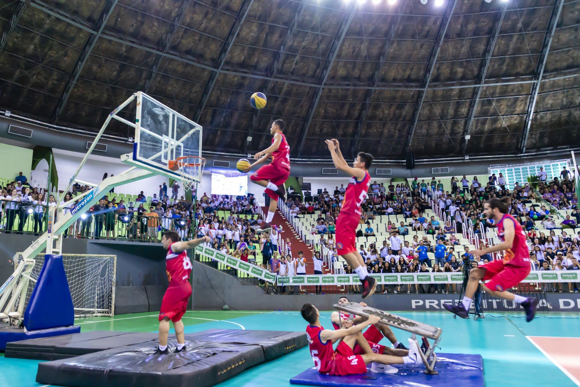 A Copa Unimed é um dos maiores eventos esportivos do sul do país e tem como objetivo integrar os alunos da rede pública e particular. Foto: Divulgação/Unimed