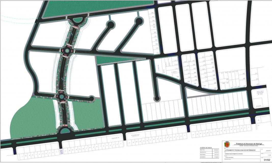 Parque será construído em área de 170 mil m² na avenida Nildo Ribeiro, próximo ao Parque do Japão. Foto: Seide