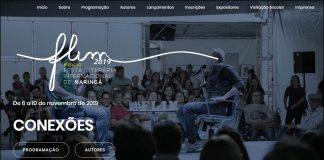 Site apresenta ampla programação da feira literária. Foto: Divulgação