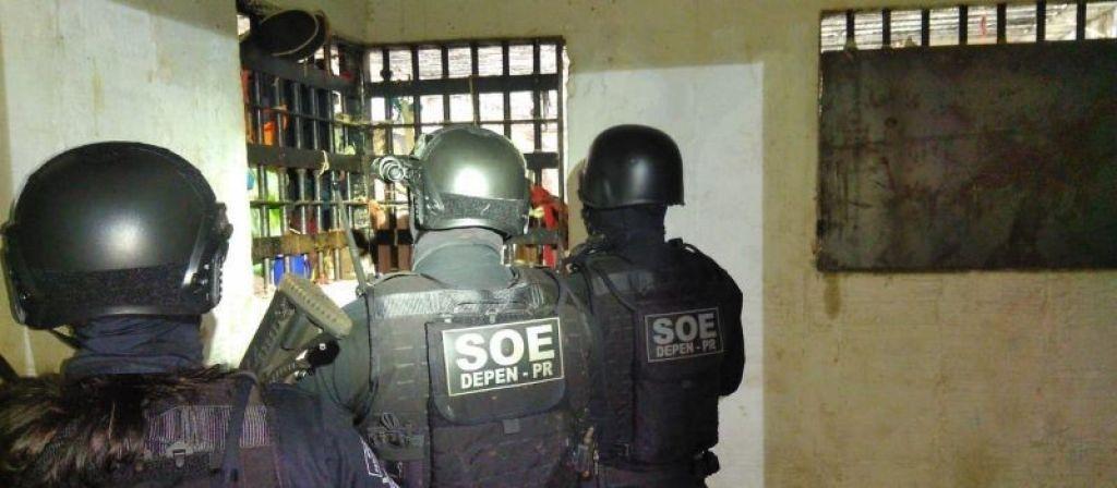 Princípio de motim teve início por volta das 2h da madrugada desta terça-feira (15), quando os agentes retiravam um preso que passava mal