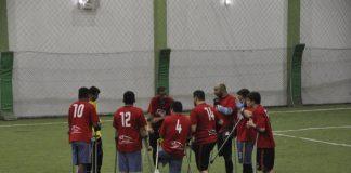 O time da Associação dos Deficientes por Amputação de Maringá (Assama) disputa de 11 a 13 de outubro, o Campeonato Brasileiro de Futebol de Amputados. Foto: Divulgação