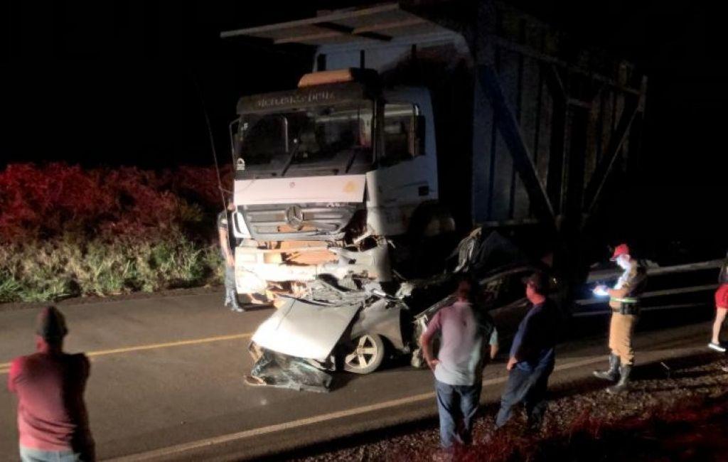 Segundo a PRE, os acidentes ocorreram na PR-218, em Querência do Norte, e na PR-559, entre Paraíso do Norte e São Carlos do Ivaí. Foto: Reprodução/Whatsapp