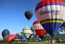 Objetivo do evento experimental foi mostrar a viabilidade de se implantar voos permanentes no local, mais uma atração para conquistar visitantes e fomentar o turismo e a economia local