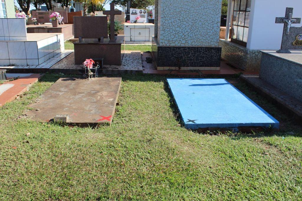 Todas as pessoas que têm terrenos no local devem procurar o cemitério para atualização cadastral e regularização. Foto: Divulgação/PNE