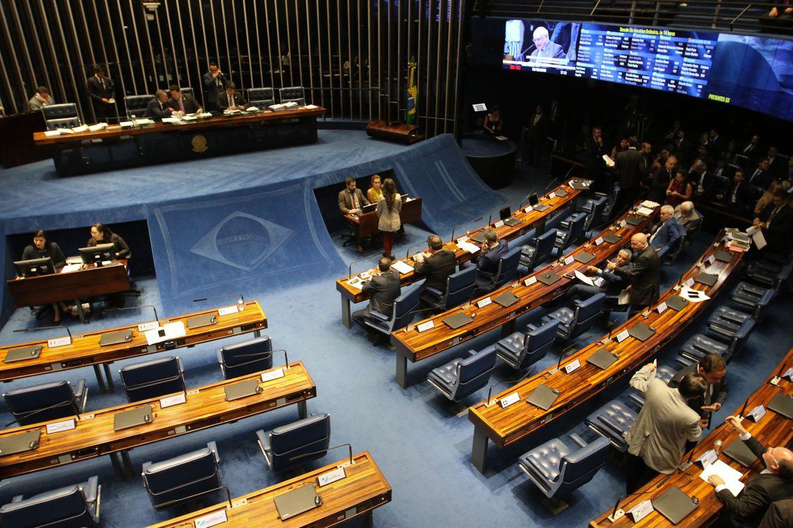 Sessenta e oito senadores votaram a favor do projeto; nenhum votou contra. O texto segue para sanção presidencial