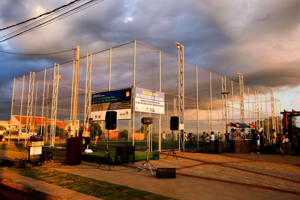 Na gestão Ulisses Maia os bairros e distritos recebem tanto atenção quanto o centro maringaense.