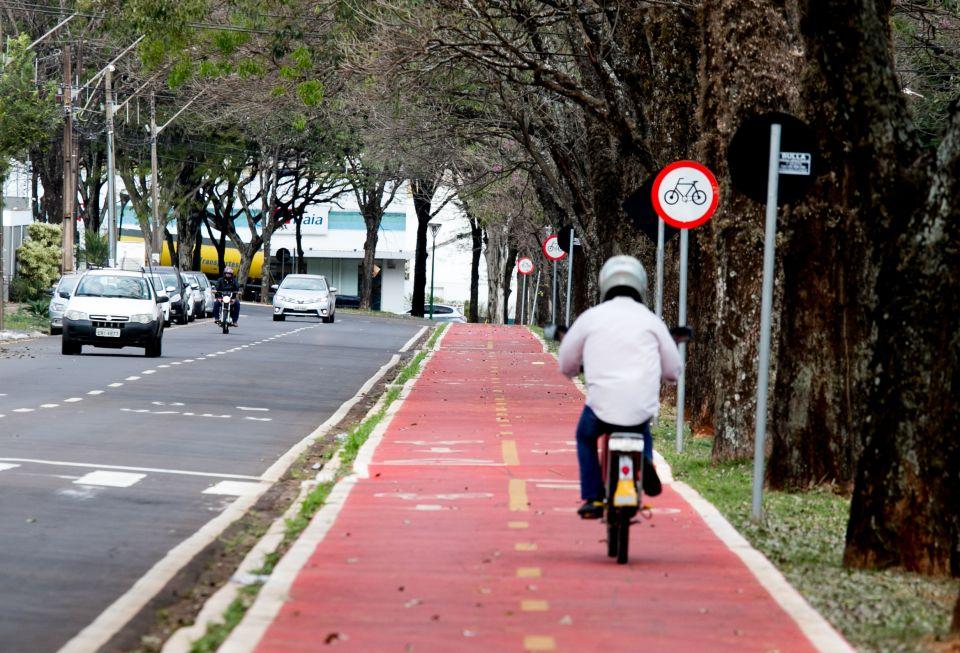 """""""Maringá tem um padrão de deslocamento diferenciado"""", avalia a engenheira da Cidade Viva, Liane Nunes Born, considerando a grande frota e arborização da cidade."""