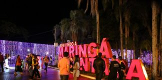 O projeto ′Maringá Encantada′, com mais de 100 atrações artísticas e culturais vai até a segunda semana de janeiro de 2020. Estima-se que 1,5 milhão de pessoas visitem Maringá até dia 6 de janeiro, fim das festividades.