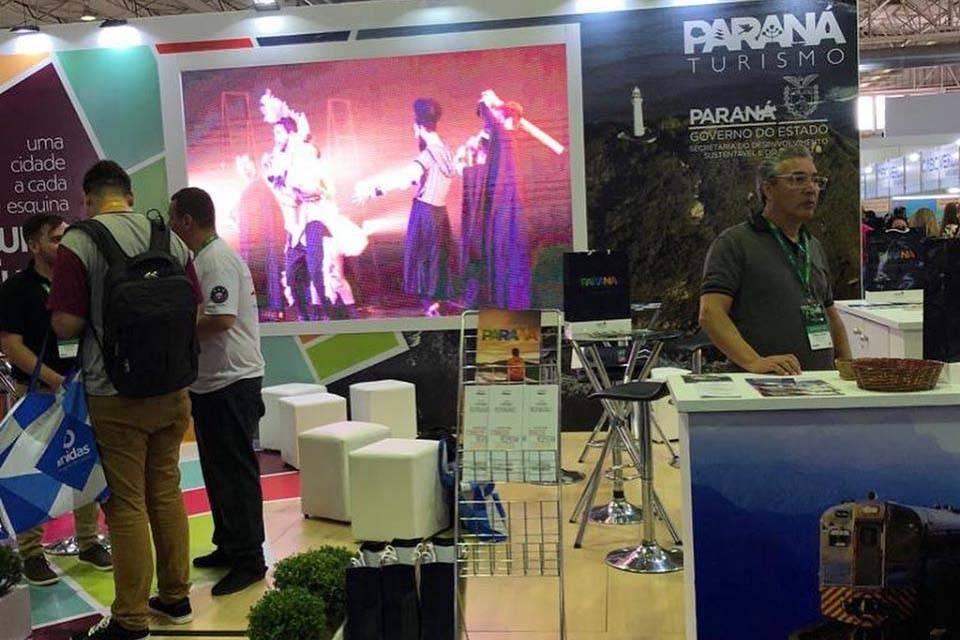 A Paraná Turismo representou o Estado, e expôs as belezas do Paraná numa das maiores Feiras de Turismo do Brasil.