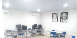 Espaço conta com sala dos professores e de Pedagogia, secretaria e direção.