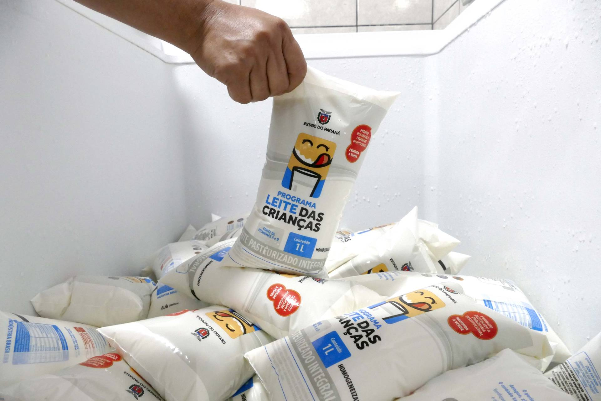 Programa está presente nos 399 municípios com atendimento a 120 mil crianças de seis a 36 meses. Além da saúde das crianças, beneficia a pecuária leiteira.