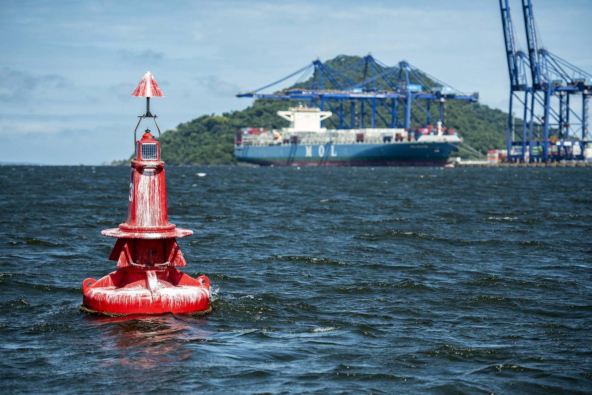Terminais paranaenses chegaram a quase 100% no Índice de Eficácia por Balizamento do Centro de Auxílio à Navegação Moraes Rego, da Marinha do Brasil, uma métrica usada para avaliar a segurança no tráfego marítimo em todo o mundo.