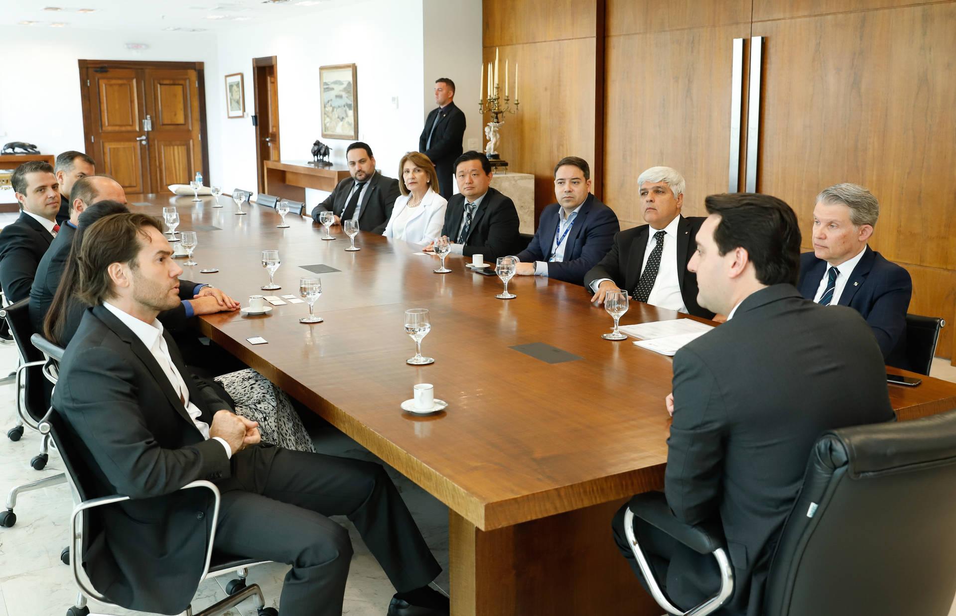 Governador Ratinho Junior afirmou que o Instituto é um centro tecnológico que atende o país inteiro.
