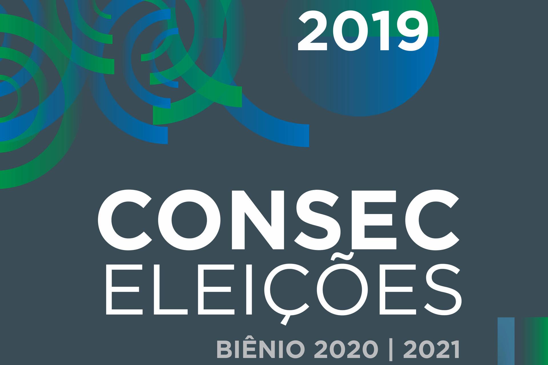 Eleição, que será realizada online, ocorre no dia 4 de dezembro de 2019.