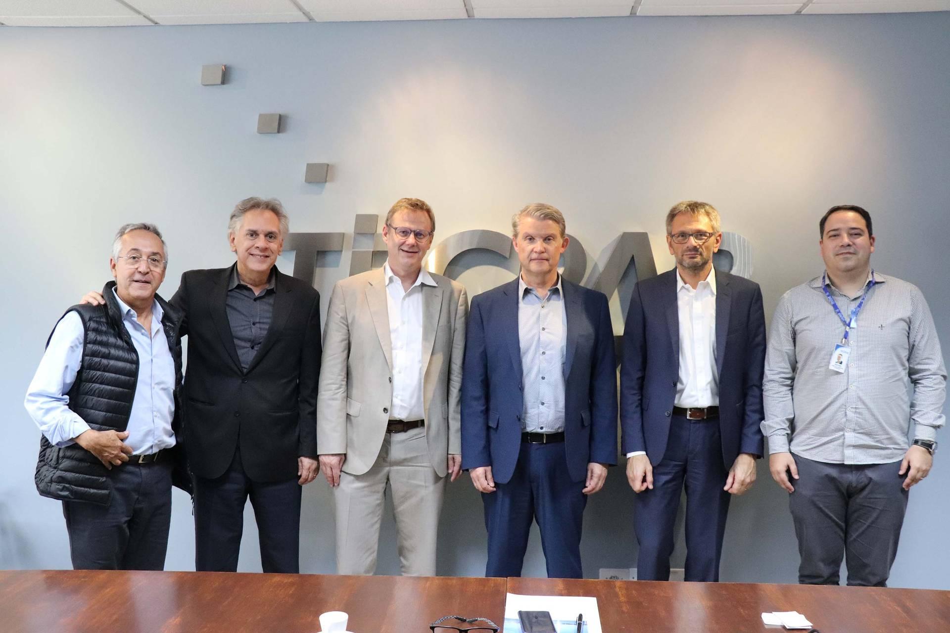 Representantes da Greater Geneva Berne area (GGBa) estiveram no Instituto de Tecnologia do Paraná para tratar de parcerias em especial nos setores de agricultura de precisão e biotecnologia.