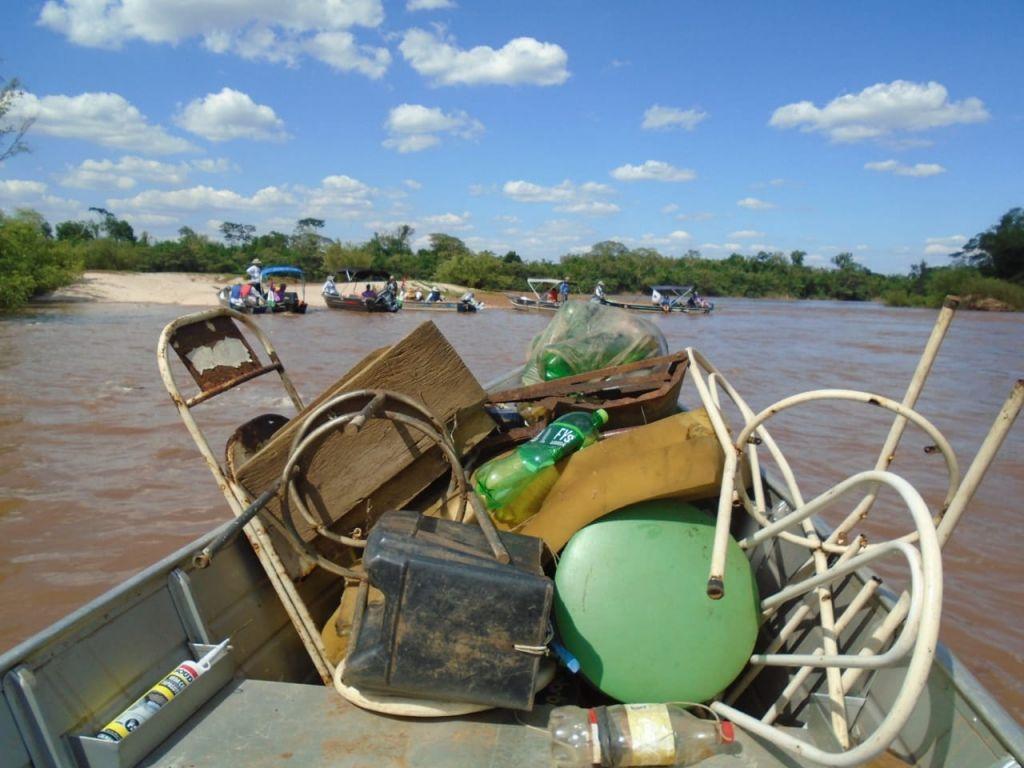 O trajeto, de 220 km, começou na sexta-feira (15), em São Carlos do Ivaí, e se encerrou no domingo (17), no Porto Camargo em Icaraíma