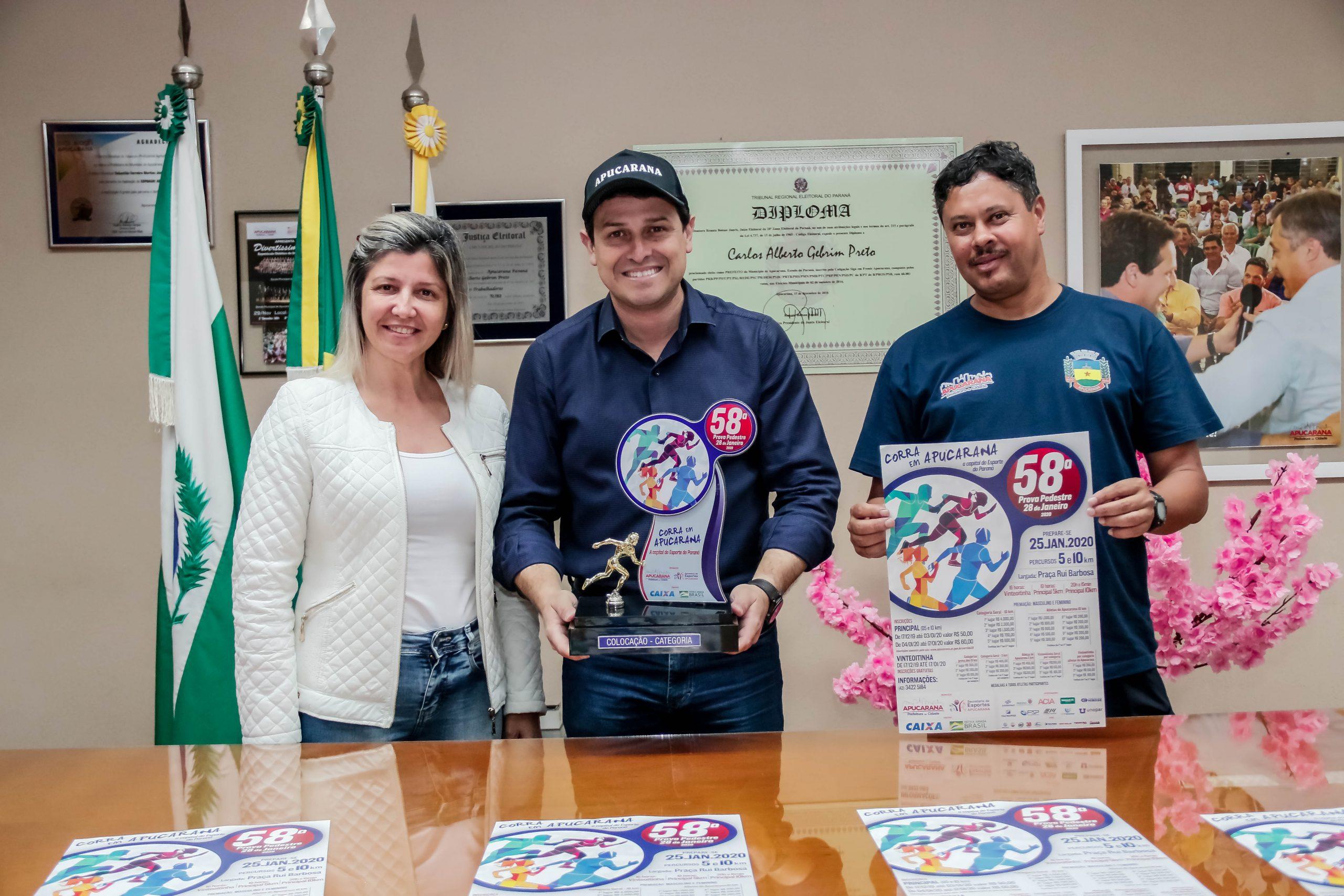 """Com o mote """"Corra em Apucarana, a Capital do Esporte no Paraná"""", a 58ª edição da tradicional prova pedestre espera reúnir cerca de 3,5 mil atletas do Brasil e exterior"""