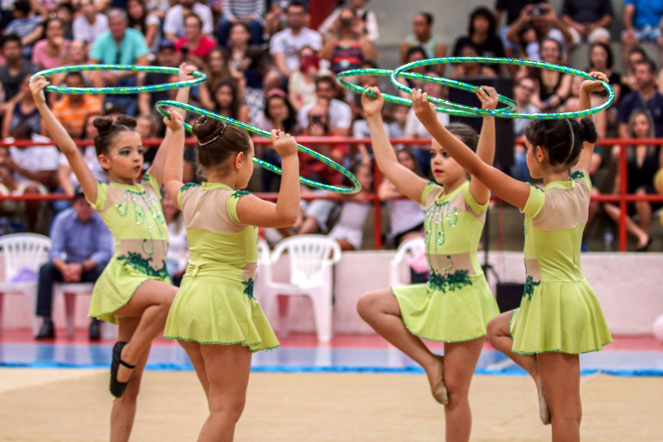 Complexo Lagoão recebeu um grande público, formado especialmente por familiares e amigos dos atletas integrantes das escolinhas municipais
