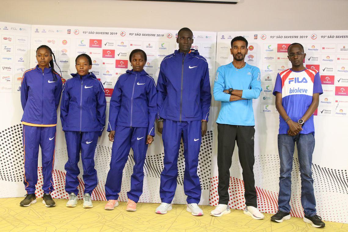 Os atletas favoritos da 95ª Corrida Internacional de São Silvestre já estão em São Paulo.