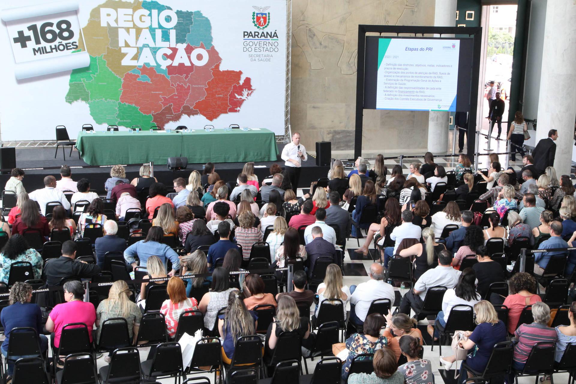 O Relatório de Planejamento Integrado (PRI) foi construído durante o ano de 2019. Desde fevereiro, equipes da secretaria estadual percorreram o Paraná promovendo oficinas e reuniões para identificar as necessidades da área de forma regionalizada.