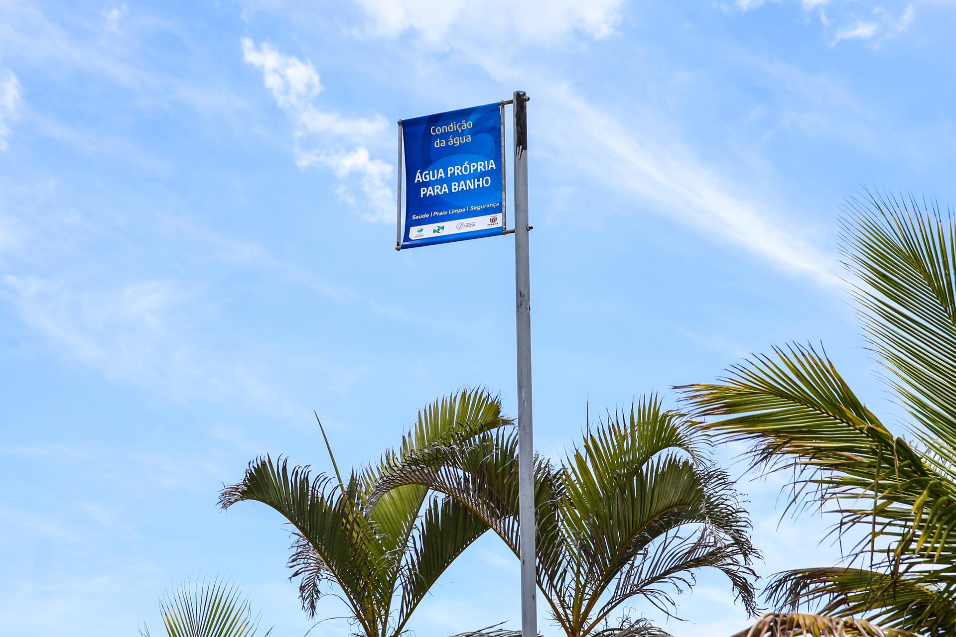 Segundo boletim de balneabilidade emitido pelo IAP indica somente Ponta da Pita, em Antonina, como ponto impróprio para banho. No Interior, todos os locais estão próprios.