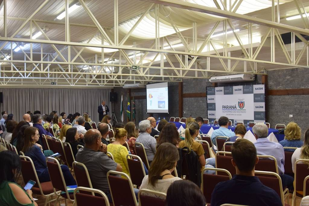 O enfrentamento do envelhecimento populacional de forma multidimensional foi o tema discutido no I Encontro Envelhecer com Saúde no Paraná, nesta terça e quarta-feira (16 e 17), em Tijucas do Sul.