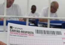 Ao todo, 1.702 presos se inscreveram no concurso provido pelo Instituto Nacional de Estudos e Pesquisas Educacionais Anísio Teixeira (Inep) para tentar uma vaga em um curso de graduação.