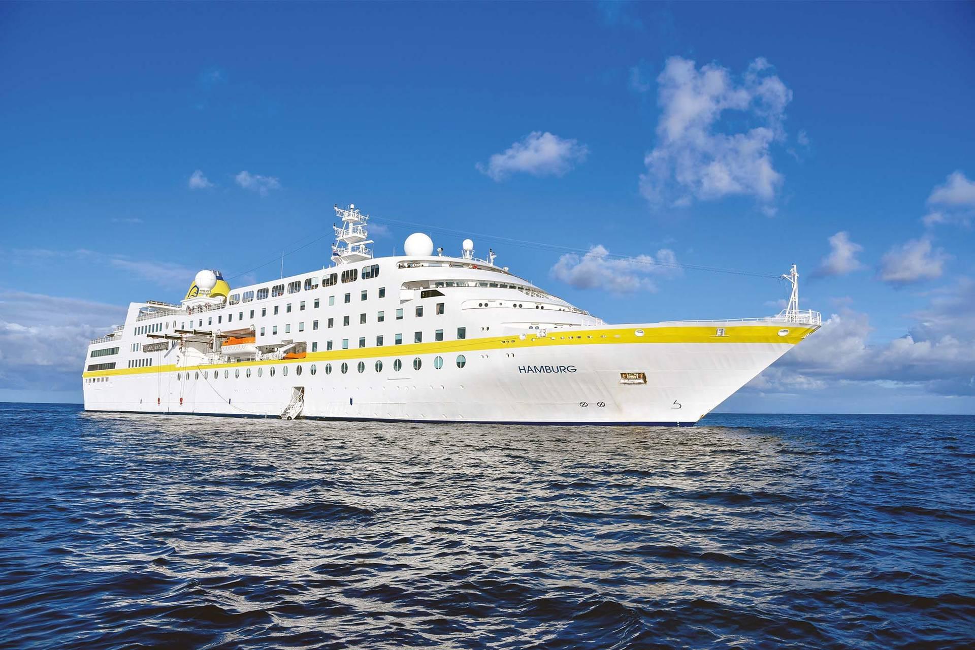 Após três anos sem o atracamento de transatlânticos, o litoral do Estado recebe o MS Hamburg no próximo domingo (15).
