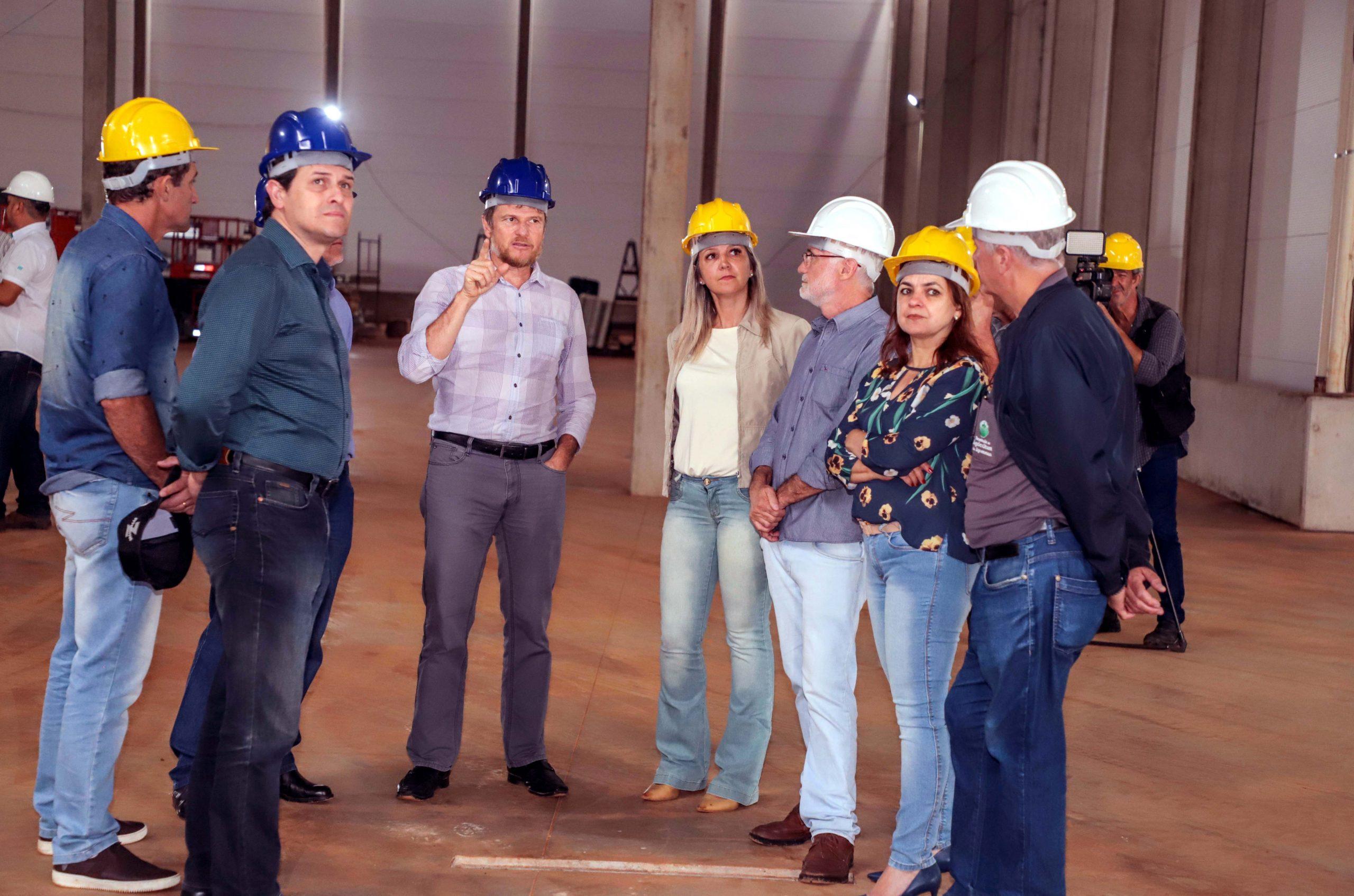 Na estrutura inicial de 10 mil m² funcionará o setor industrial (produção), laboratório, inoculantes, aditivos, estoque e expedição.
