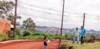 A modernização deste acesso faz parte da programação alusiva aos 76 anos de Apucarana e, nos próximos dias, o canteiro de obras deverá ser visitado pelo prefeito de Apucarana