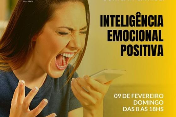 O MasterClass - Inteligência emocional positiva será no dia 9 de fevereiro, na Sala SBCoaching. Imersão de 10h será conduzida pela Trainer Sandrely Gavioli