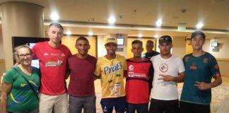 Carlos Henrique de Souza (Carlinhos), que largou no pelotão de elite da 95ª Corrida São Silvestre percorreu os 15 quilômetros em 50 minutos