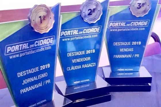 A unidade recebeu o 1º lugar de destaque em Jornalismo. Além de dois prêmios para o departamento comercial: vendas e melhor vendedor (a).