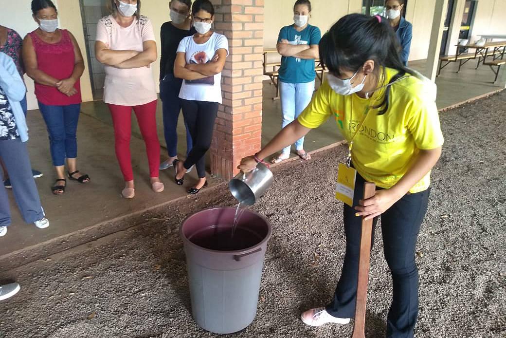 Comunidades de Vera Cruz do Oeste foram beneficiadas por atividades como a oficina sobre atuação em rede para enfrentamento à violência