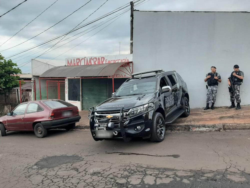 PM faz operação em Londrina nesta quinta-feira (30) - Foto: Vinícius Buganza/RPC Londrina