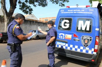 Guarda Municipal e Sema estão atentas a casos de poluição sonora e perturbação do sossego