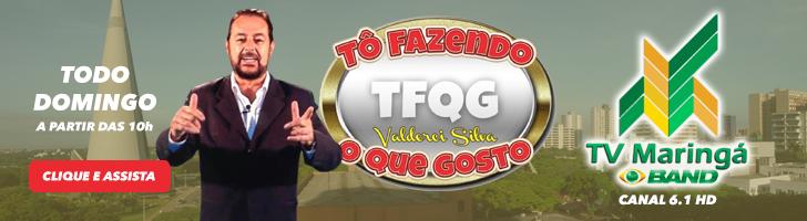 Programa TFQG - TV Band Maringá Canal 6.1 HD