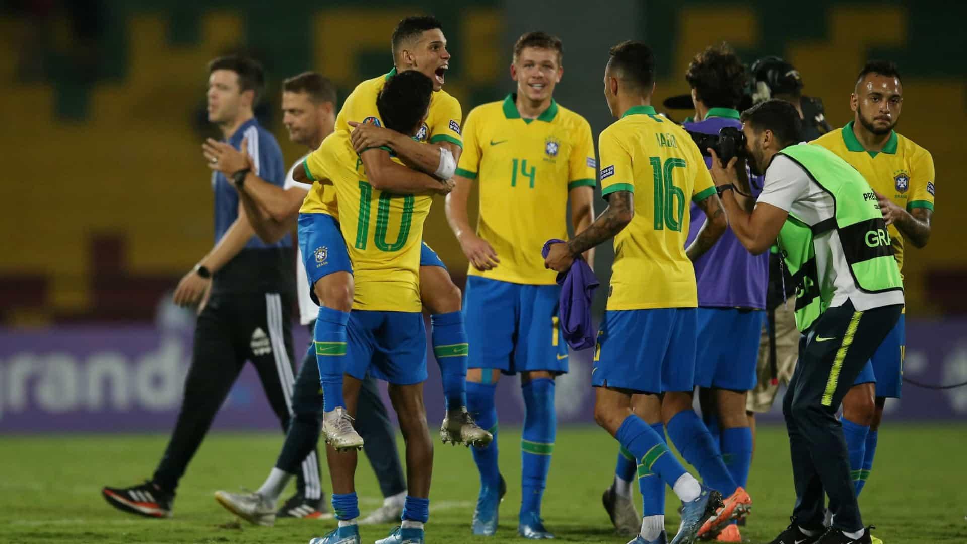 Com o resultado, a equipe formada por jogadores de até 23 anos chegou aos 5 pontos e terminou o quadrangular final do Pré-Olímpico na segunda colocação, atrás justamente da Argentina, que permaneceu com 6.