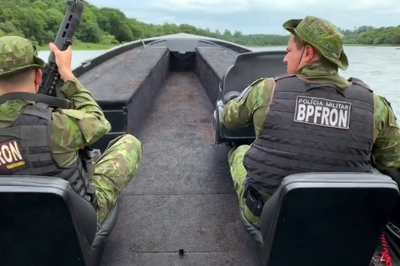 Reforço das operações da Polícia Militar e Polícia Civil é por conta da temporada de verão e também para fechar a fronteira contra a entrada de ilícitos, foragidos da justiça e coibir crimes transfronteiriços